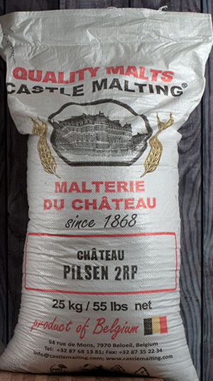 55 Lbs. Castle Pilsner Malt (Actual Cost Shipping Item)